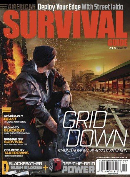 Download American Survival Guide - October 2016