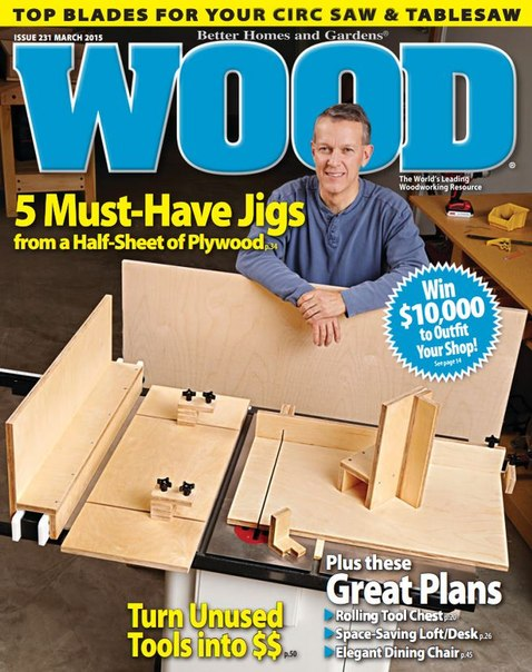Download WOOD Magazine - March 2015