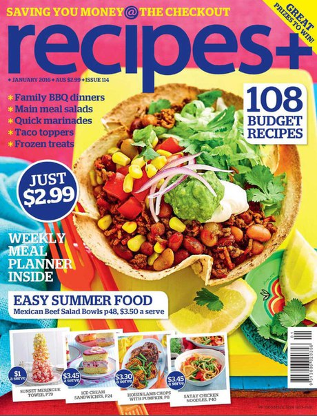 Download recipes+ - January 2016