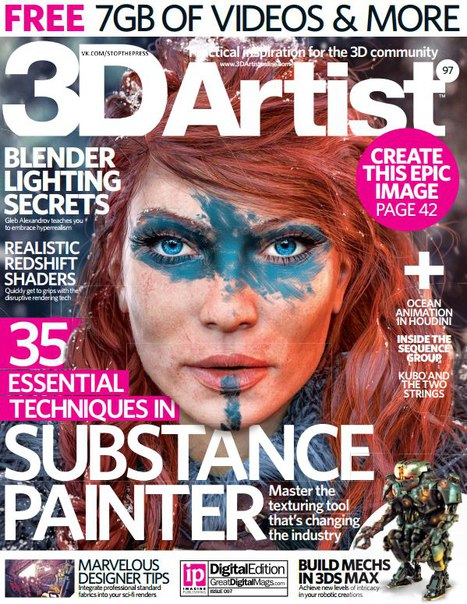 Download 3D Artist – Issue 97 2016