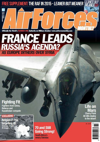 Download AirForces Monthly - November 2015