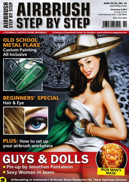 Download Airbrush Step By Step - June 2016