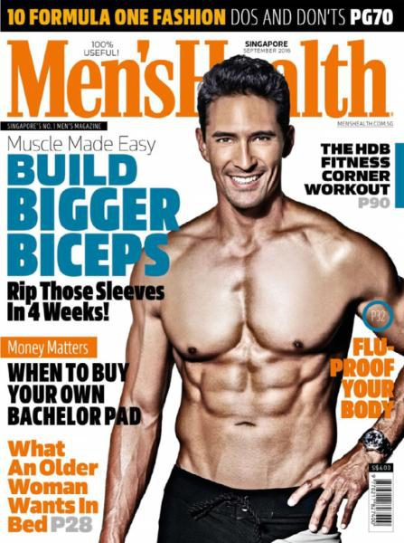 Download Men Health Singapore September 2016