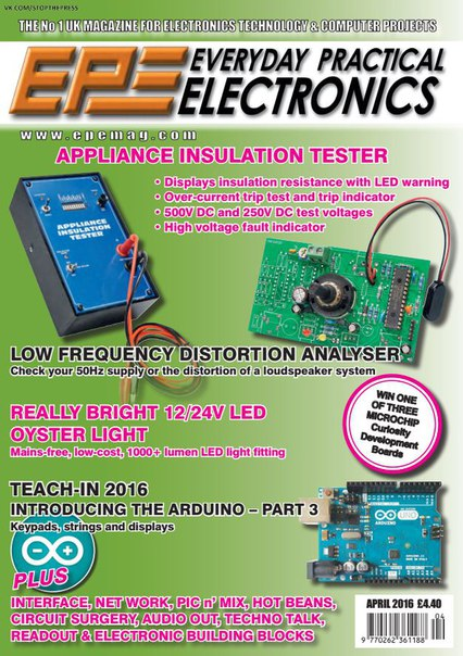 Download Everyday Practical Electronics - April 2016
