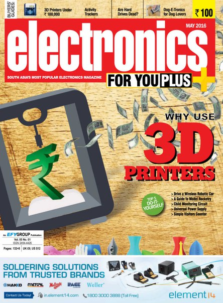 Download Electronics For You Plus - May 2016