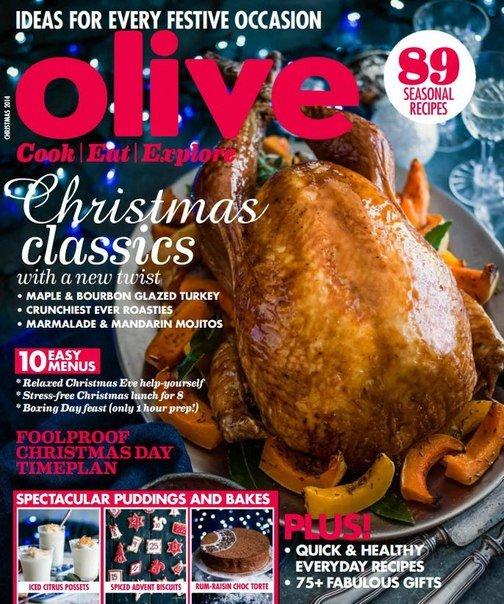 Olive Magazine – Christmas 2014 UK