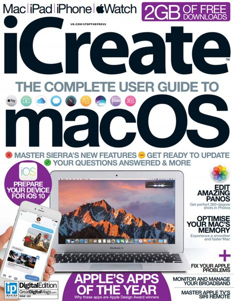 Download iCreate 163 - 2016 UK