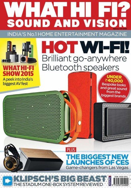 Download What Hi-Fi Sound and Vision - February 2015 IN