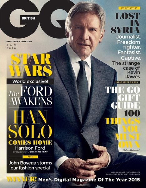 Download GQ - January 2016