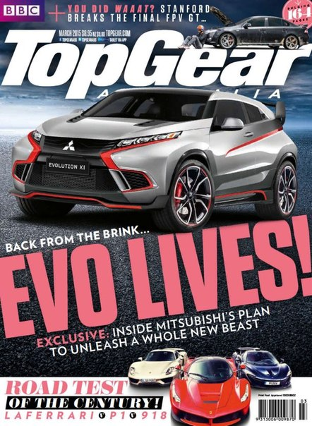 Download TopGear - March 2015 AU