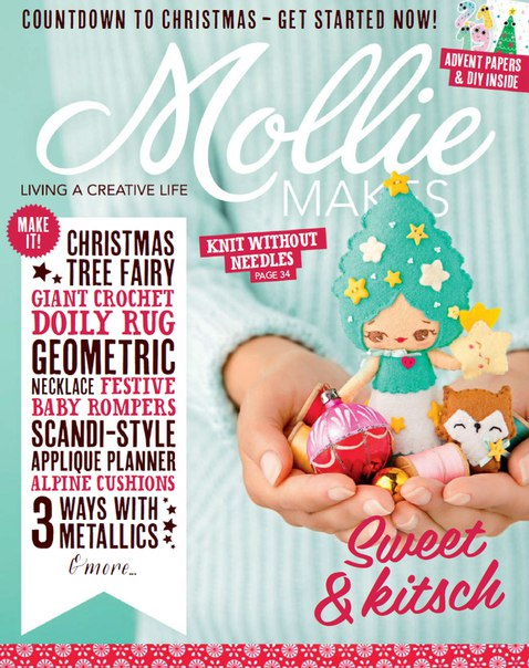 Download Mollie Makes - Issue Fifty Eight