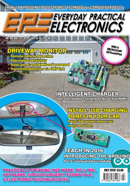 Download Everyday Practical Electronics - July 2016