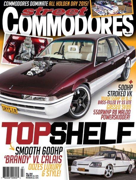 Street Commodores 244 – 2015 AU