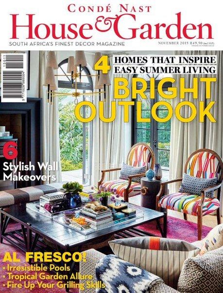 Download Condé Nast House & Garden - November 2015