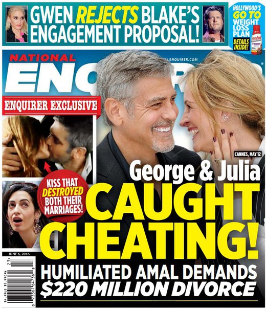 Download National Enquirer - June 6, 2016
