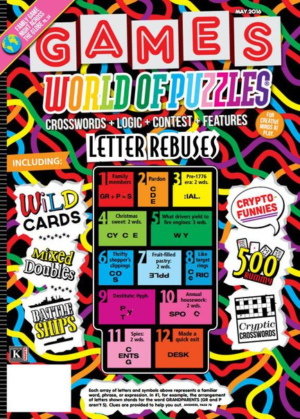 Download Games World of Puzzles - May 2016