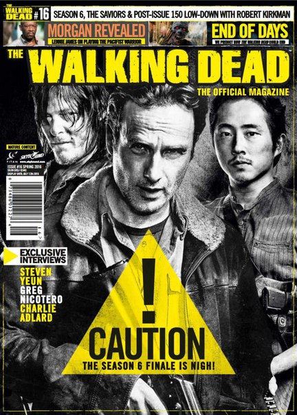 Download The Walking Dead Official Magazine - Spring 2016