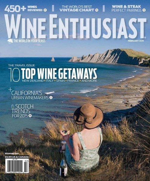 Wine Enthusiast – February 2015 USA