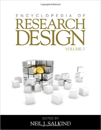 Encyclopedia of Research Design, 3 Volumes (2010) by Neil J Salkind