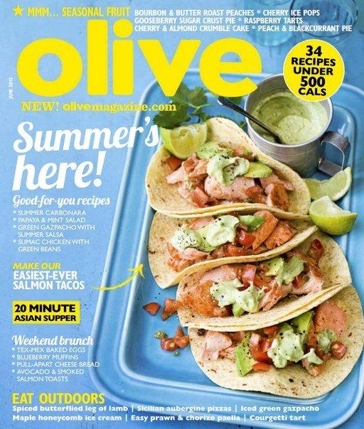 Olive Magazine – June 2015 UK