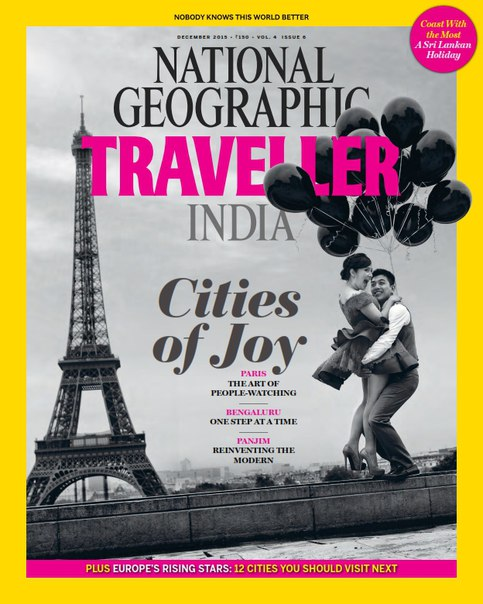 National Geographic Traveller India – December 2015