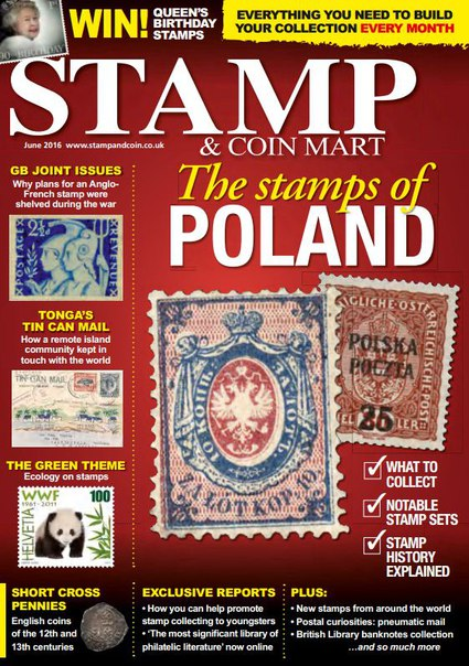 Stamp & Coin Mart – June 2016