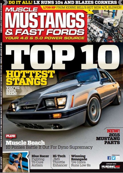 Download Muscle Mustangs & Fast Fords - January 2015