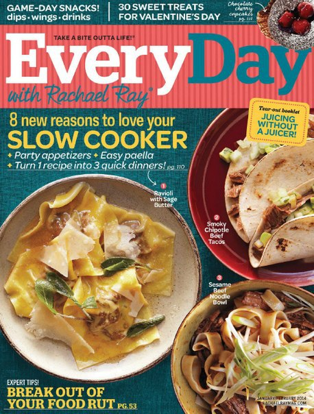 Every Day with Rachael Ray №1-2 2014