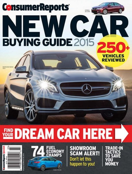 Download Consumer Reports New Car Buying Guide - 2015 U