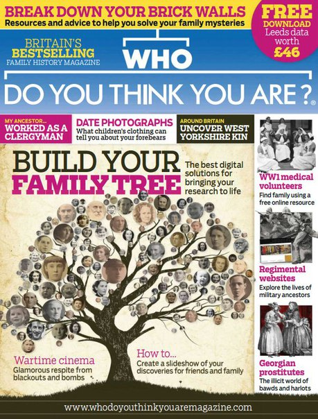Download Who Do You Think You Are - July 2016