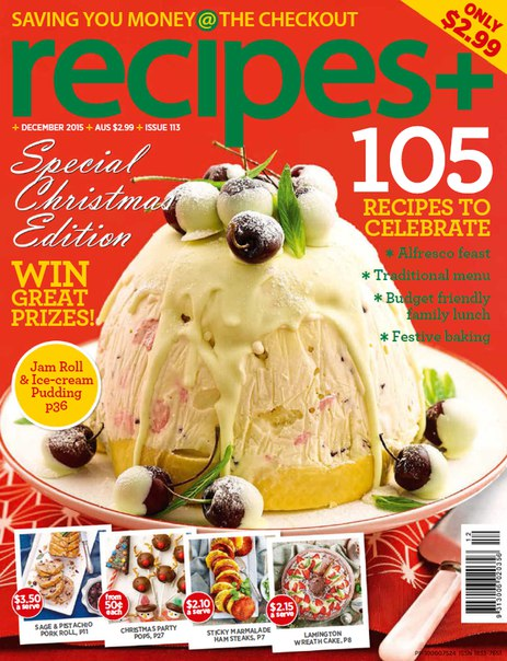 Download recipes+ - December 2015