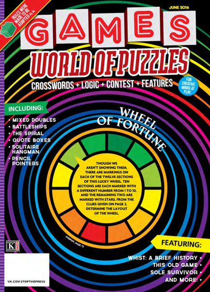 Download Games World of Puzzles - June 2016