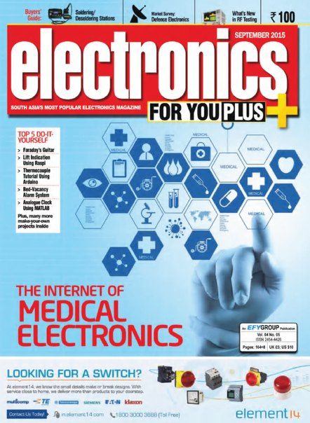 Download Electronics For You Plus - September 2015 IN