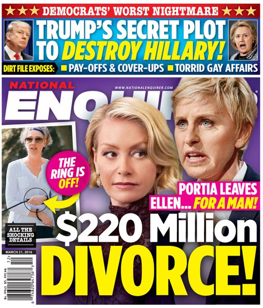 Download National Enquirer - March 21, 2016