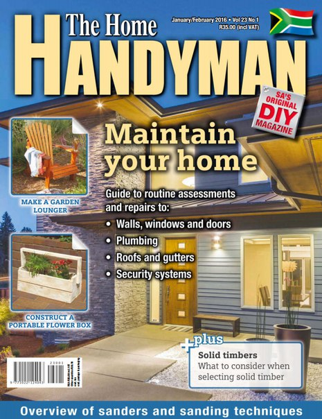 The Home Handyman February 2016 Za Pdf Download Free