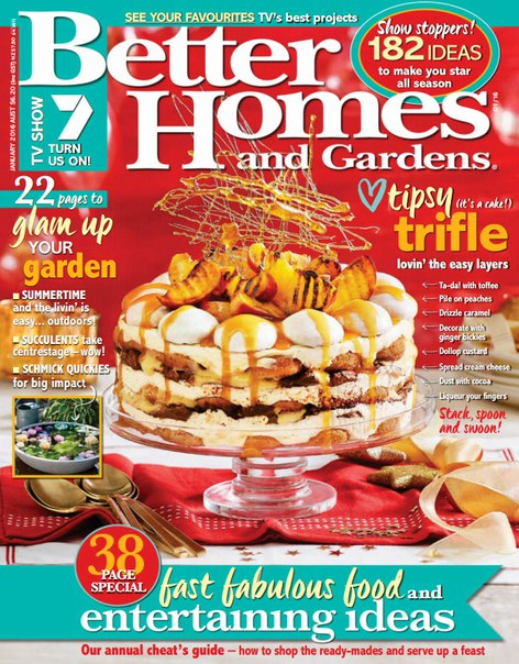 Download Better Homes and Gardens - January 2016