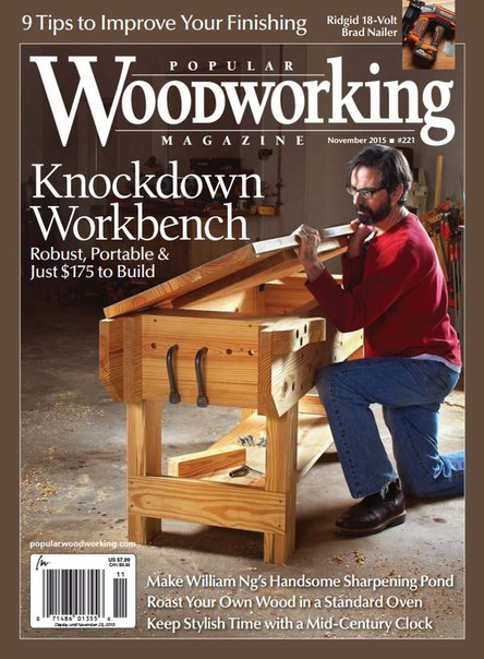 Download Popular Woodworking - November 2015