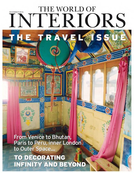 Download The World of Interiors - December 2015