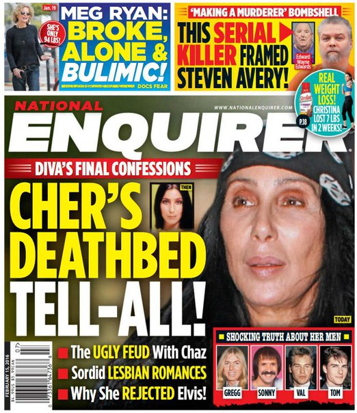 Download National Enquirer - February 15, 2016