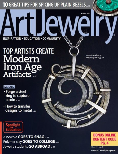 Download Art Jewelry - March 2015