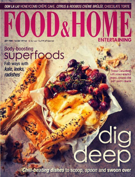 Download Food Home Entertaining July 2016