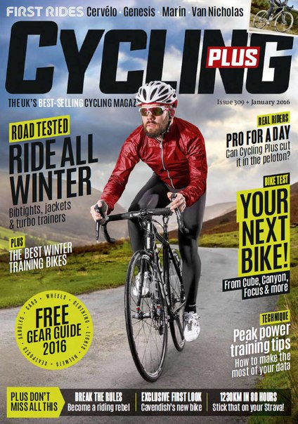 Download Cycling Plus - January 2016