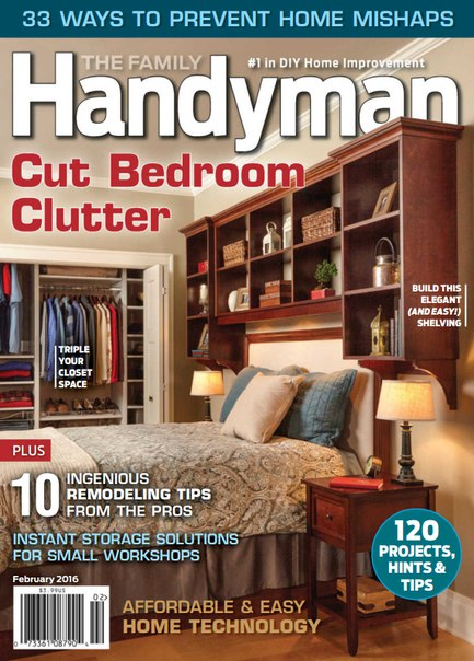 Download The Family Handyman - February 2016
