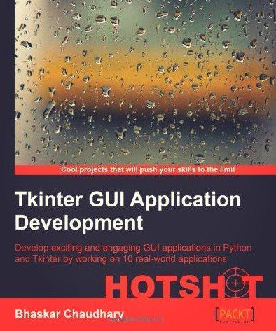 tkinter gui application development hotshot pdf