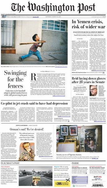 Download The Washington Post 28 March 2015