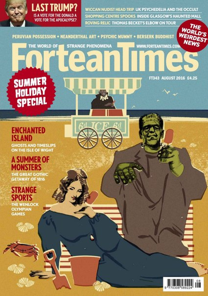 Download Fortean Times - August 2016