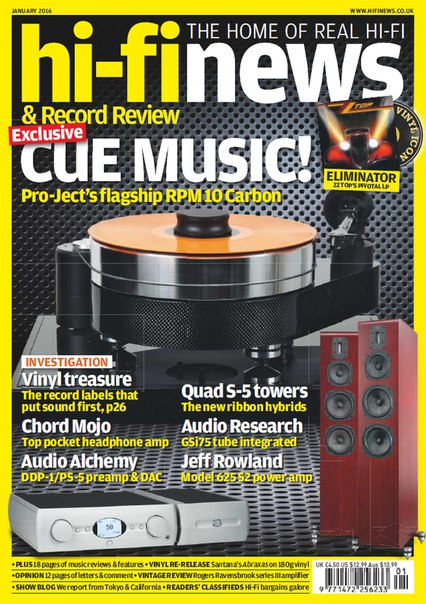 Download Hi-Fi News - January 2016