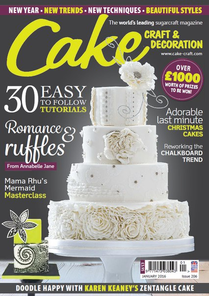 Download Cake Craft & Decoration - January 2016