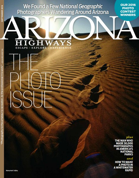 Download Arizona Highways Magazine – September 2016