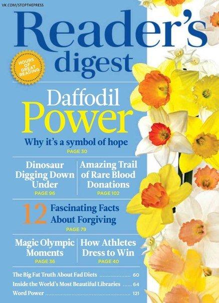 Download Reader's Digest - August 2016